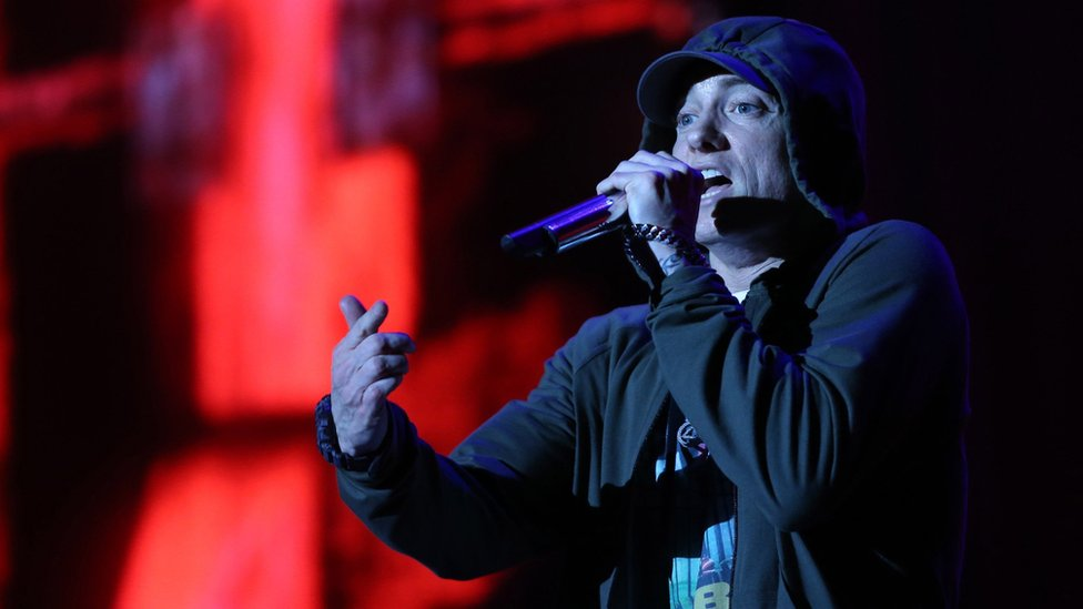 Eminem sues New Zealand governing party over Lose Yourself