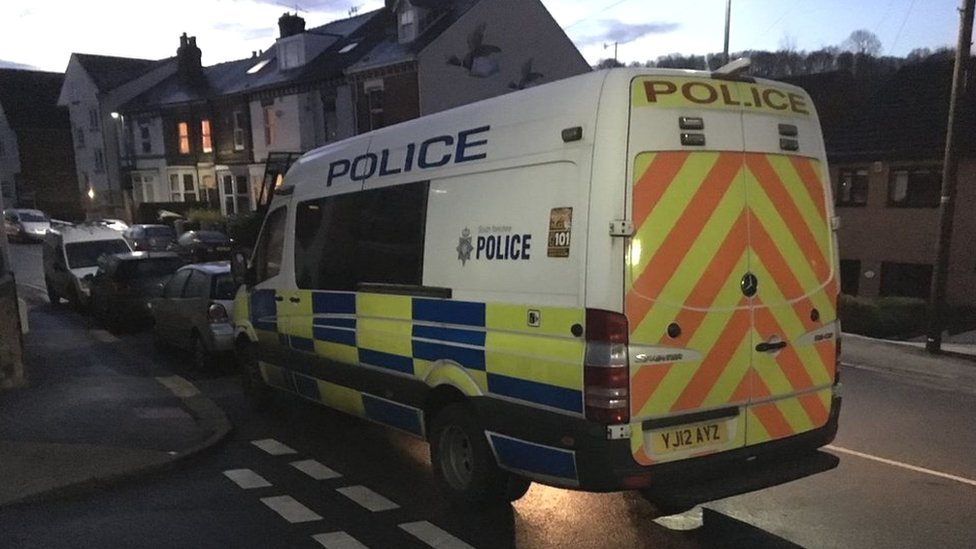 Four men arrested in early morning terror raids