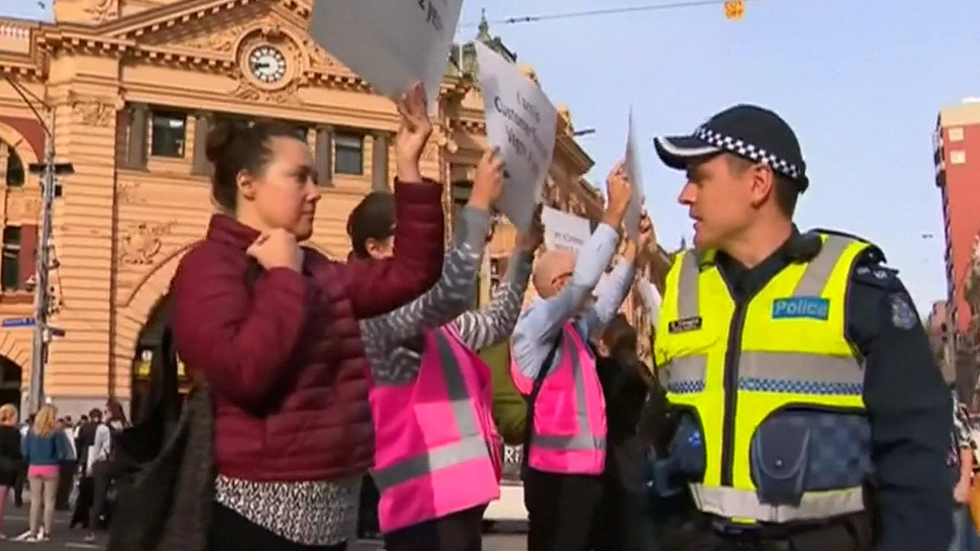 Dozens of animal rights protesters arrested in Australia