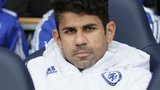 Diego Costa on the bench