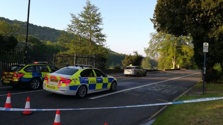 Driver dies as car plunges into South Yorkshire mill pond | BBC