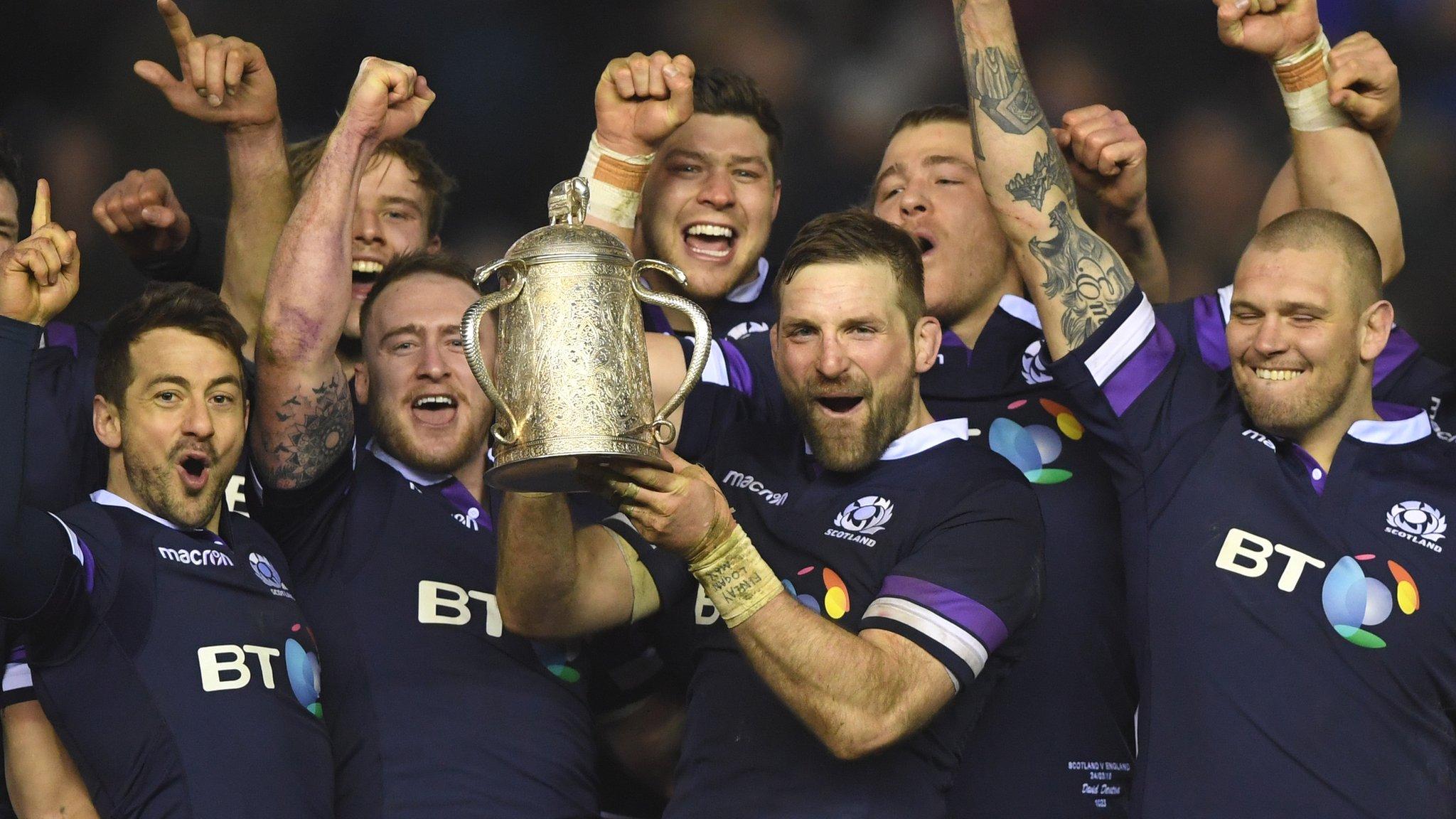 Six Nations: Scotland beat England