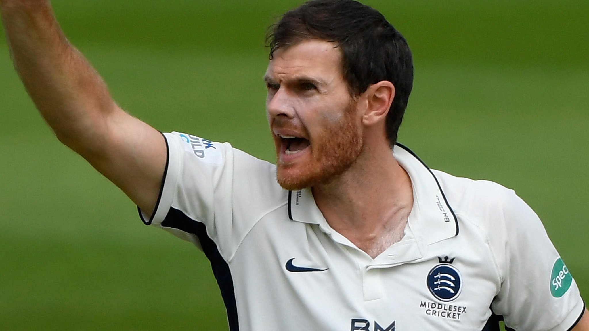 James Harris: Bowling all-rounder extends Middlesex contract
