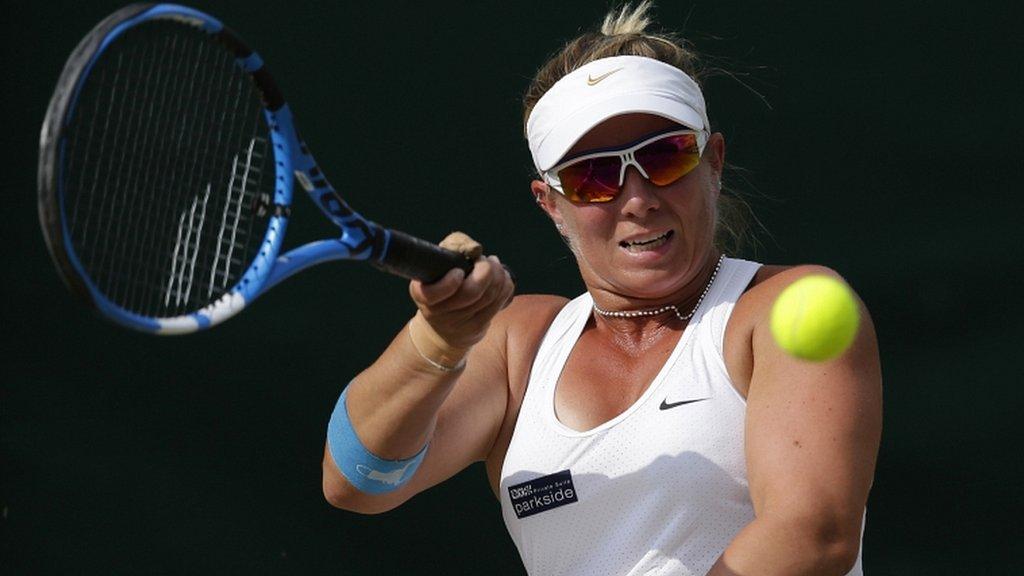 Wimbledon 2018: Britain's Lucy Shuker loses women's wheelchair doubles final