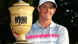 Rory McIlroy celebrates his 2014 success in the WGC-Bridgestone Invitational
