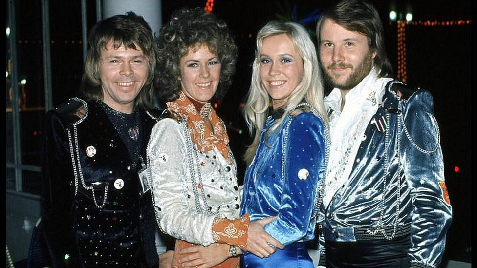 Abba stars reunite for new venture