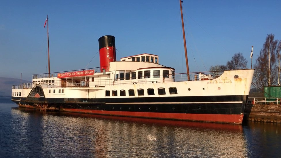 Loch Lomond paddle steamer opens to visitors