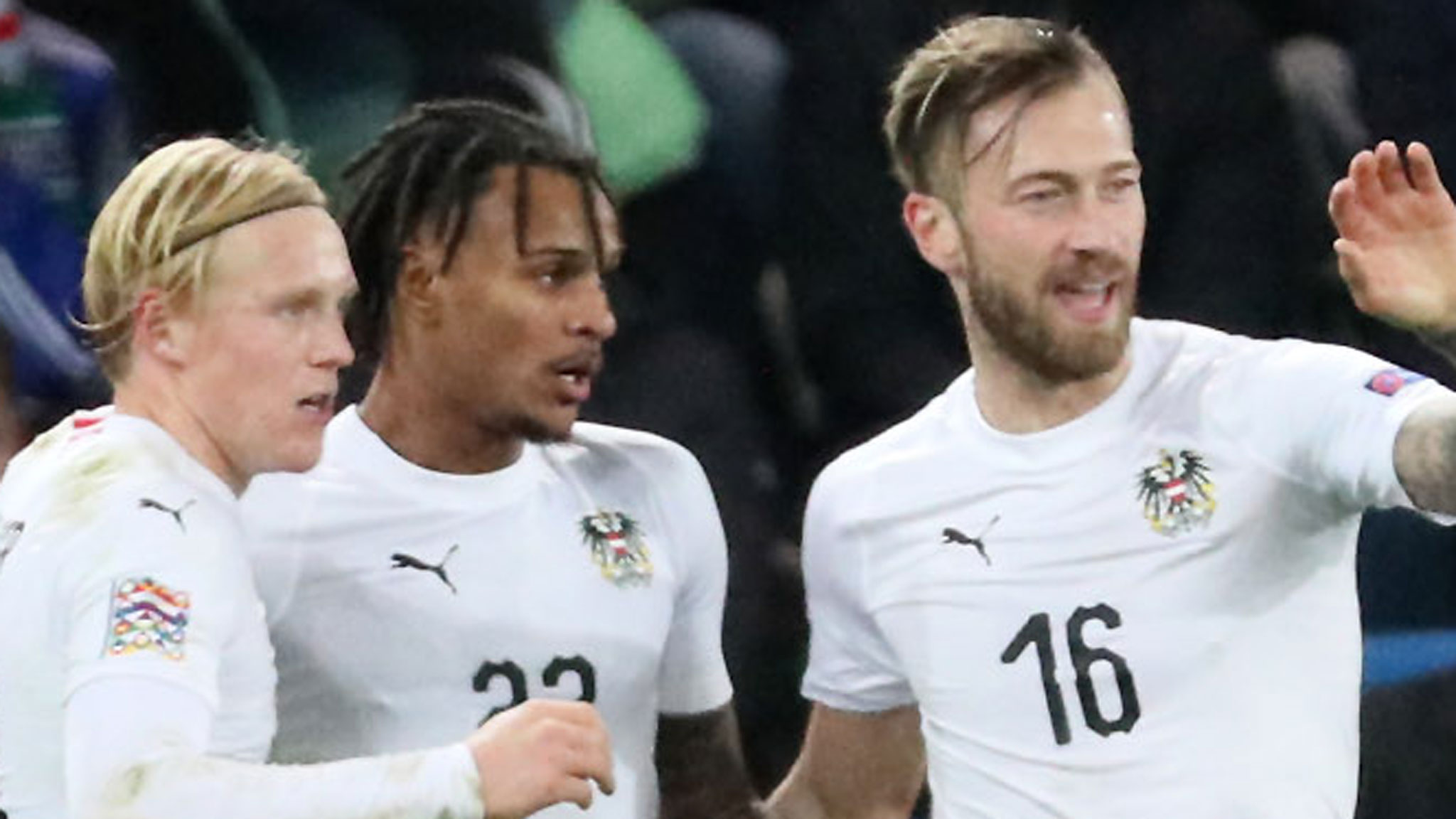 Northern Ireland defeated by Austria