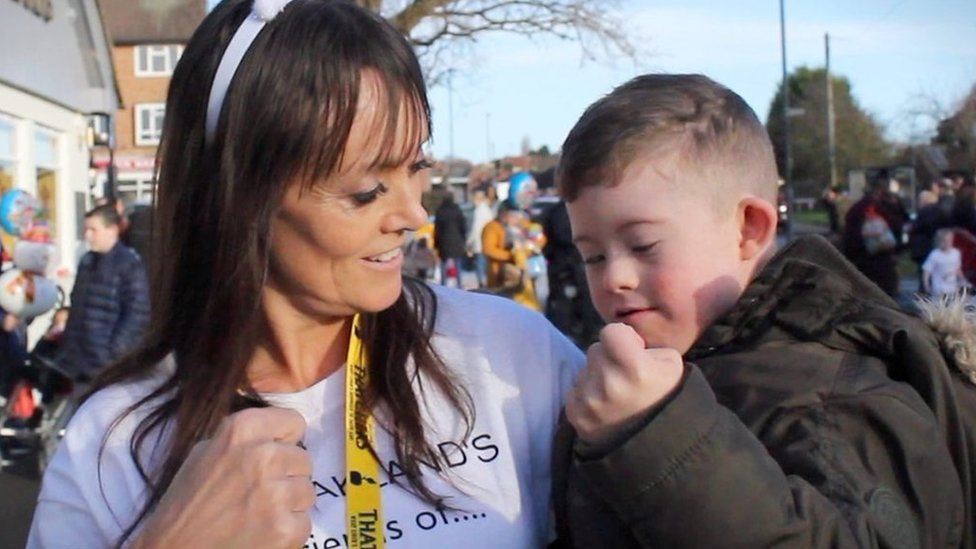Derby pub's 'sign-a-long' for boy with Down's syndrome