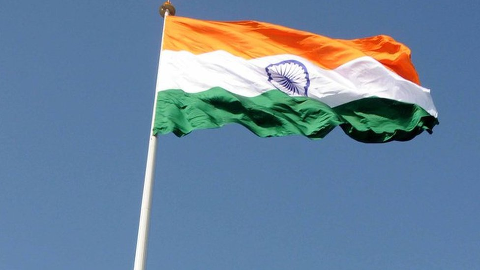 Indian red faces over tallest flag at Pakistan border