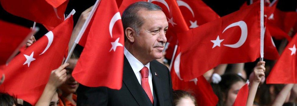El presidente Tayyip Erdogan