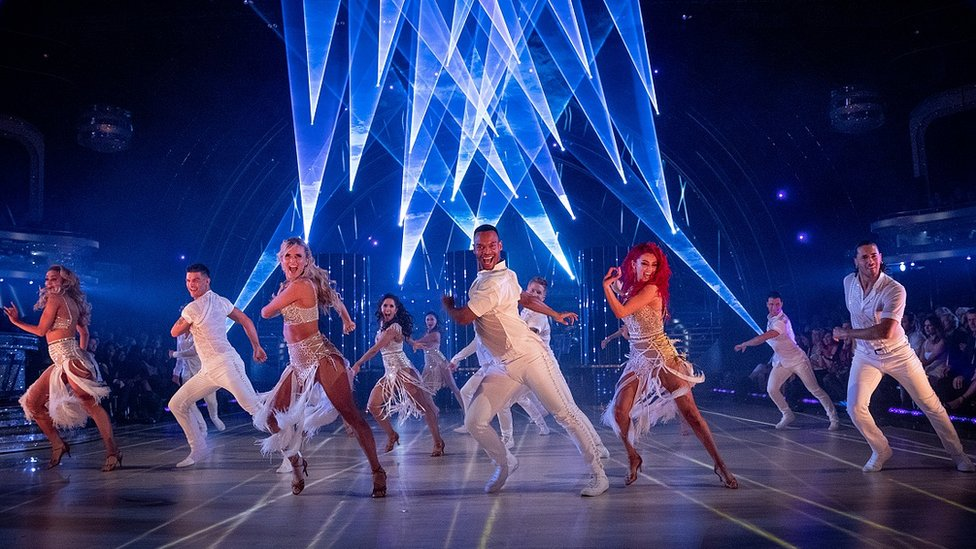 The Strictly Come Dancing professional dancers