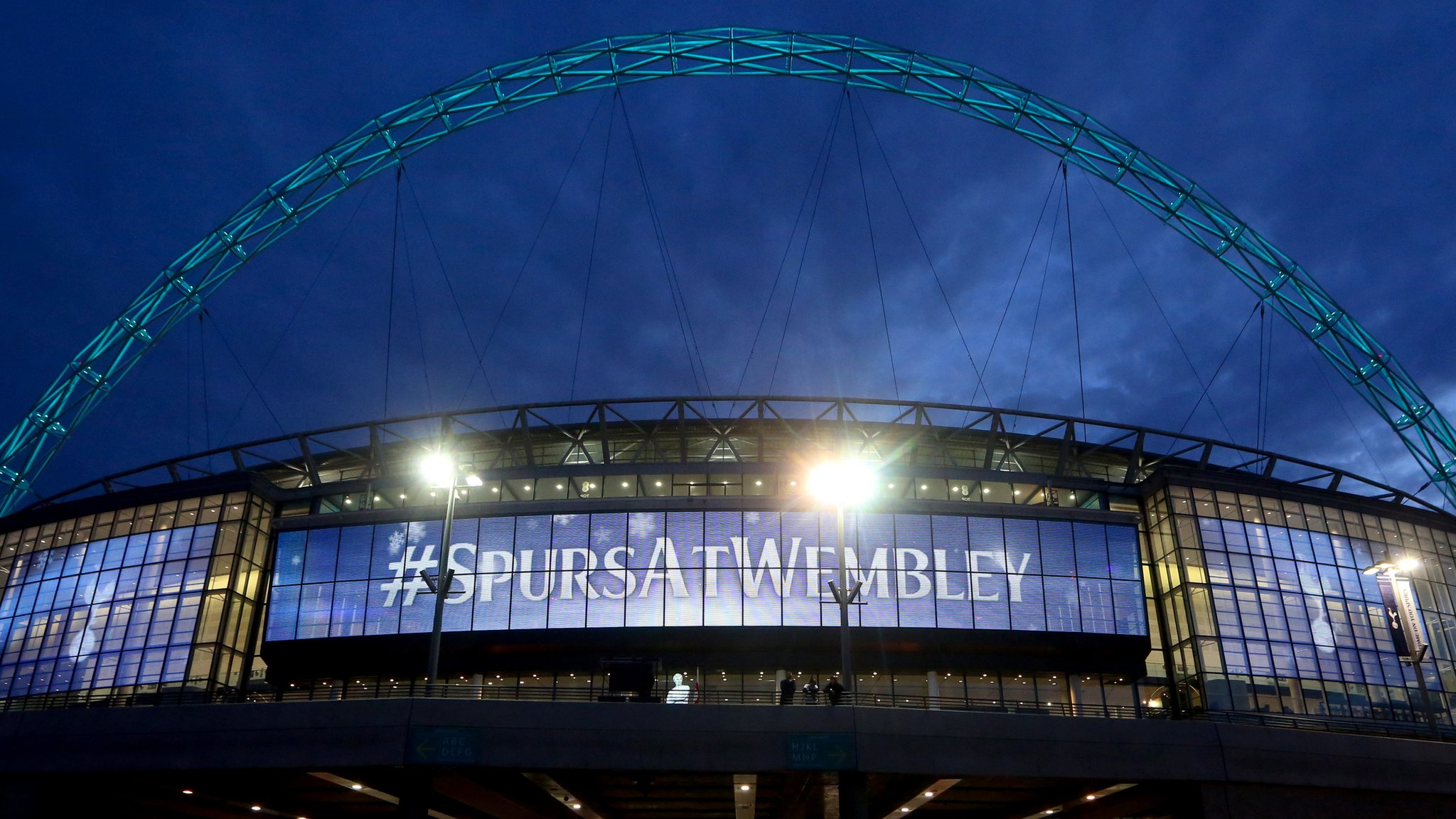 Tottenham stadium: Club will play home games at Wembley in 2017-18