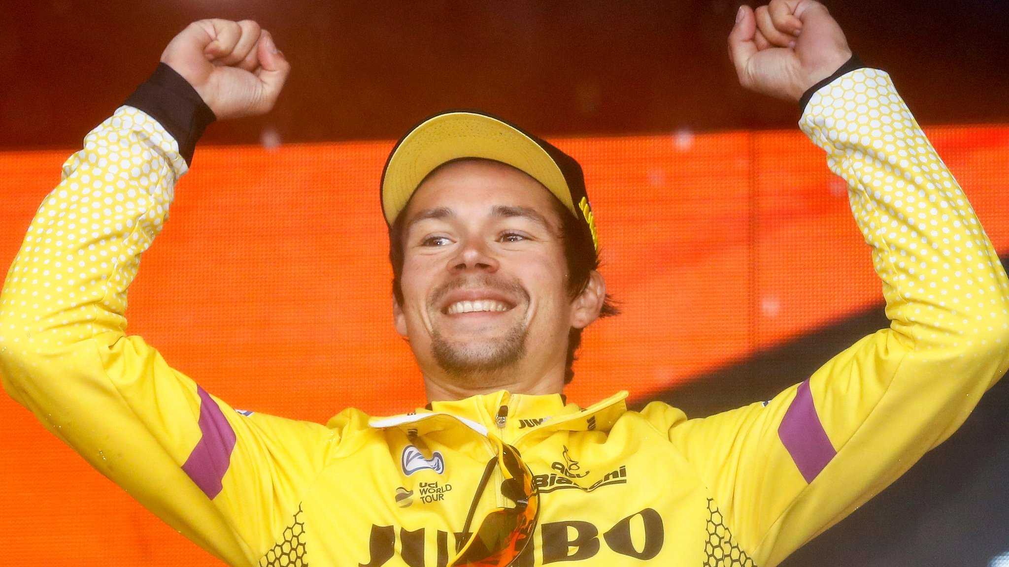 Roglic up to second in Giro d'Italia after stage nine win