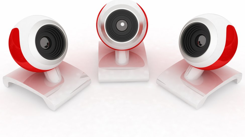 Army of webcams used in net attacks