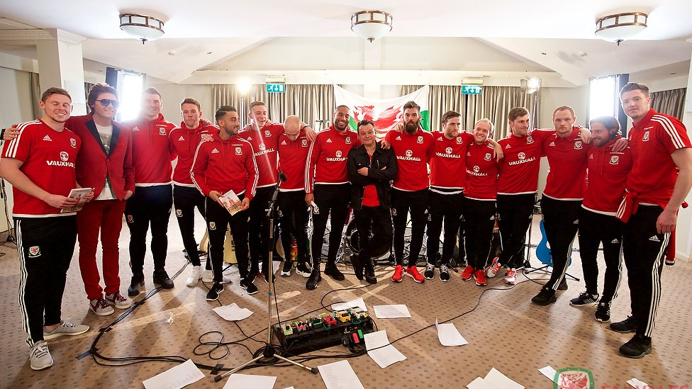 The journey of Wales' Euro 2016 song