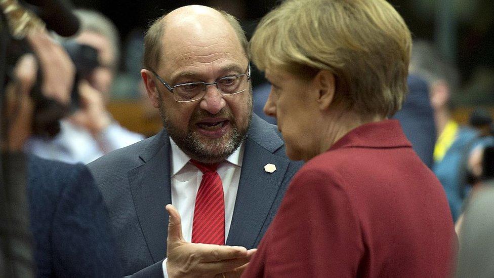 Schulz se empeñó en fortalecer el Parlamento europeo para hacer frente a la crisis de la UE.