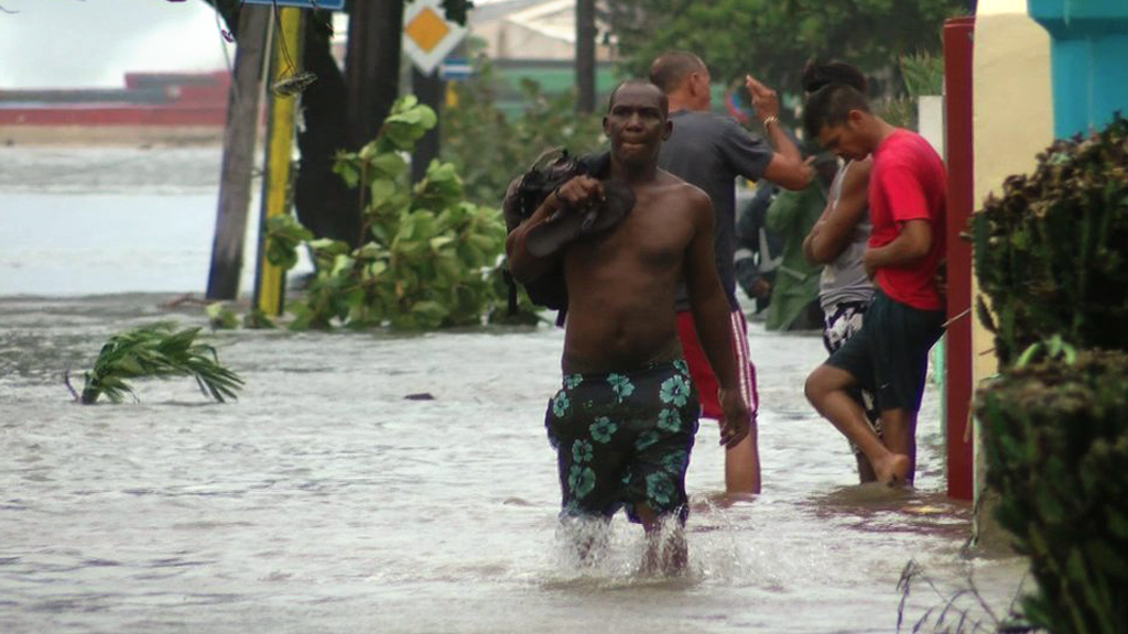Hurricane-hit Havana