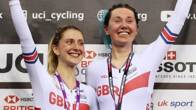 Laura Kenny and Katie Archibald win madison gold at Track Cycling World Cup