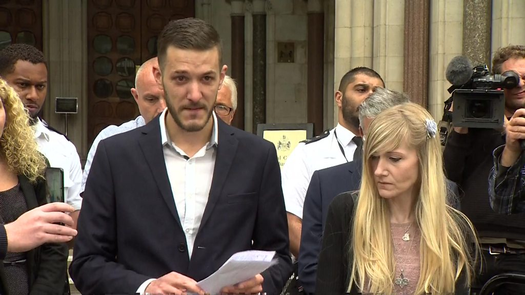 Charlie Gard: Parents pay tribute to son as legal fight ends