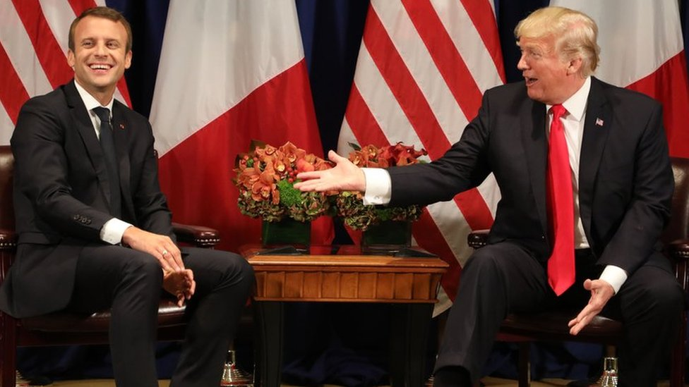 What does a Trump-Macron bromance mean for the world?