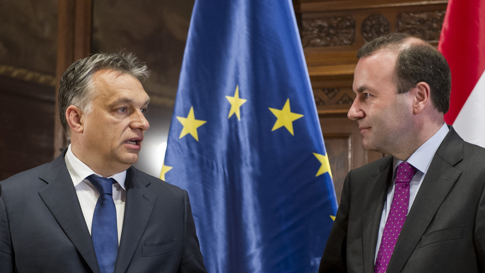Hungary Orban: Europe's centre-right EPP suspends Fidesz