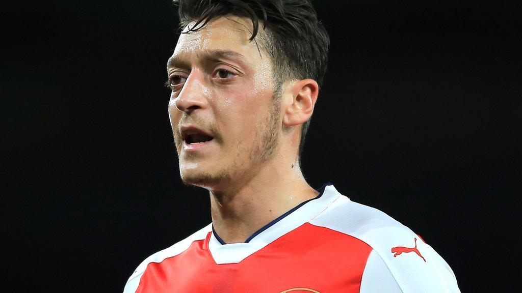 Mesut Ozil: Arsenal contract talks on hold until summer, says Germany midfielder