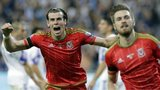 Wales pair Gareth Bale and Aaron Ramsey