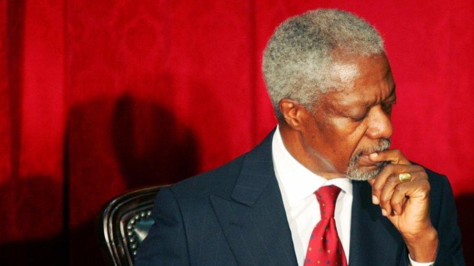 Kofi Annan: Remembering the world's top diplomat   BBC