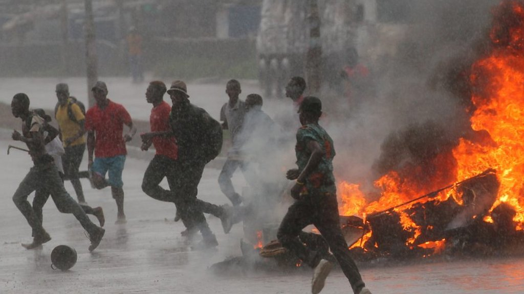 Zimbabwe fuel protests after prices more than double