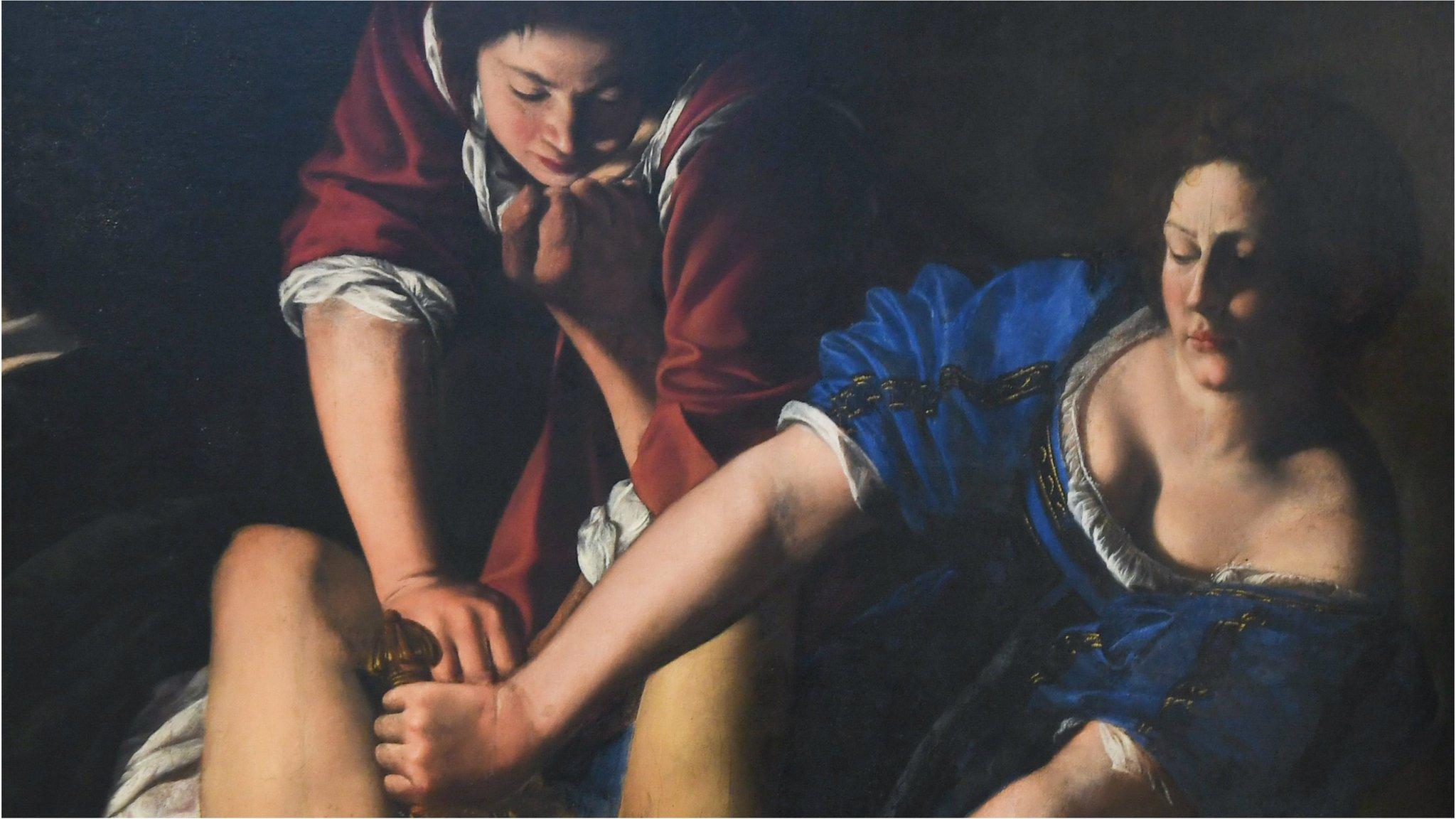 German poster of Baroque old master 'too disturbing'