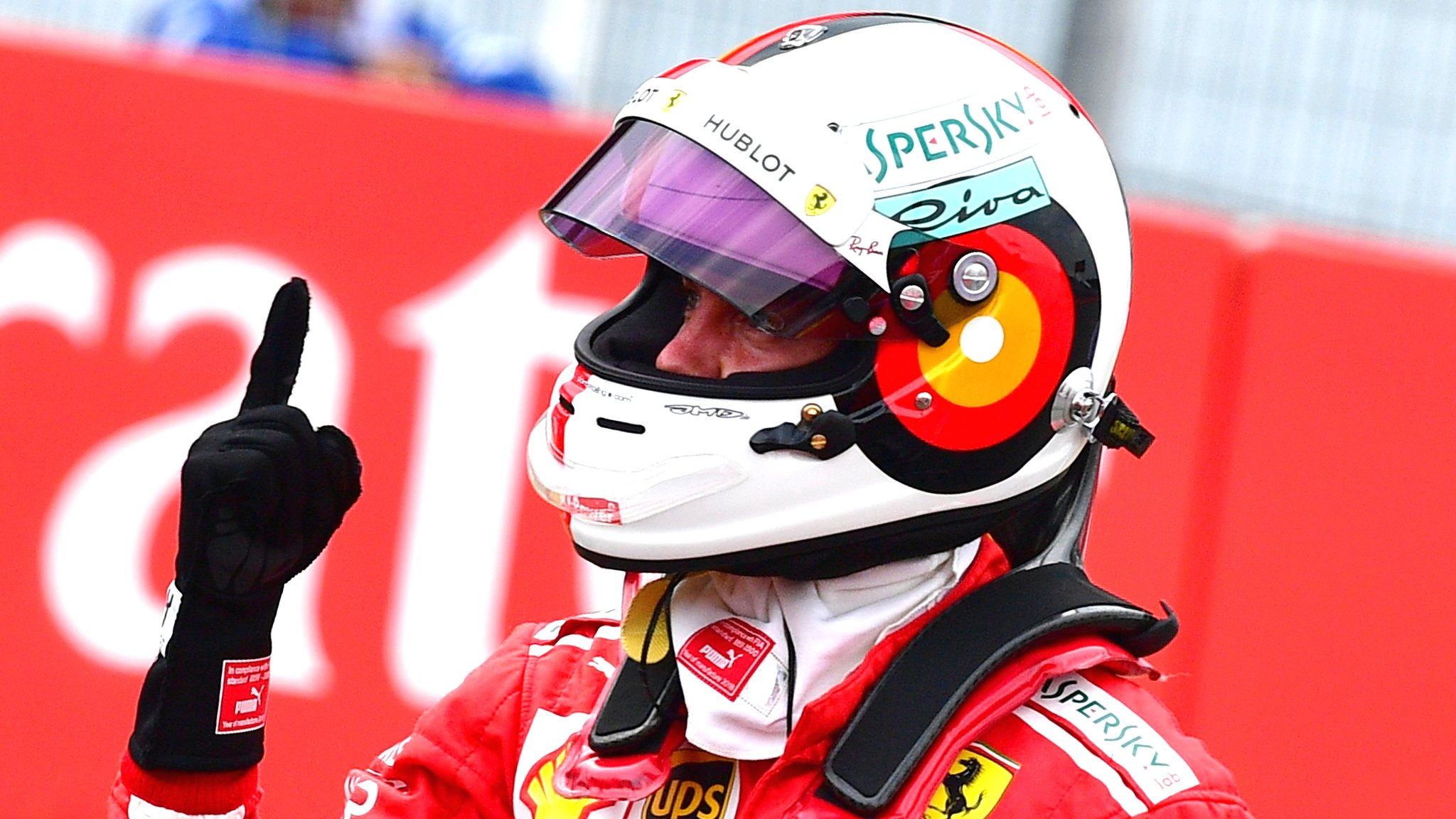 Vettel on pole, changes at Ferrari - all you need to know for the German GP