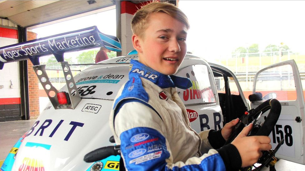 Amputee teen racer Billy Monger set for charity walk