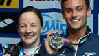 Rebecca Gallantree and Tom Daley