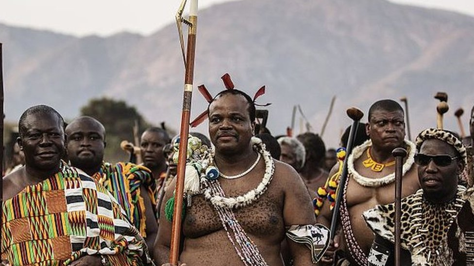Swaziland king renames country 'the Kingdom of eSwatini'