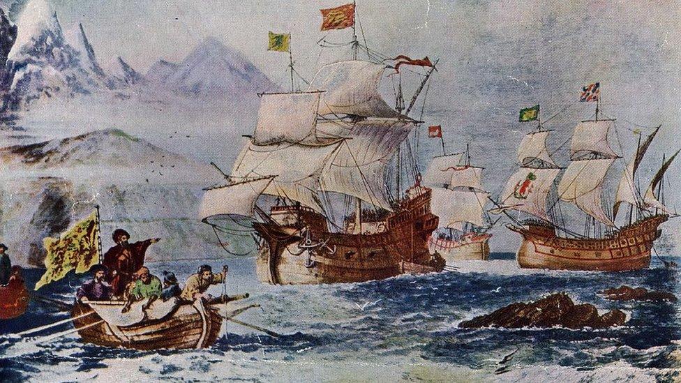 Magallanes: los lugares, animales y plantas que los europeos desconocían antes de la primera vuelta al mundo (y cómo cambiaron su visión del planeta) - BBC News Mundo