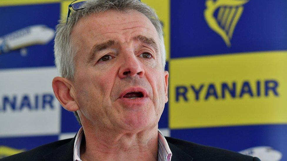 El director ejecutivo de Ryanair, Michael O'Leary.