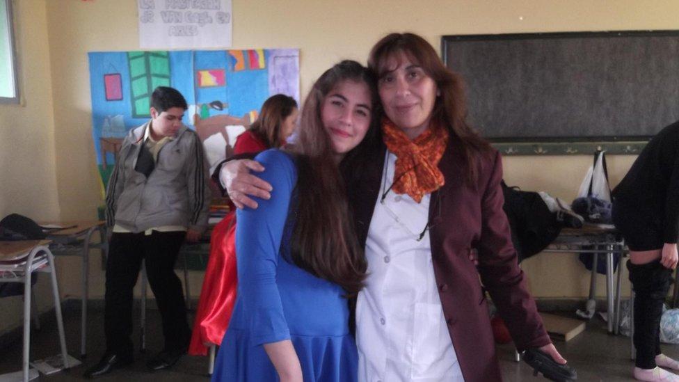 paula y la madre