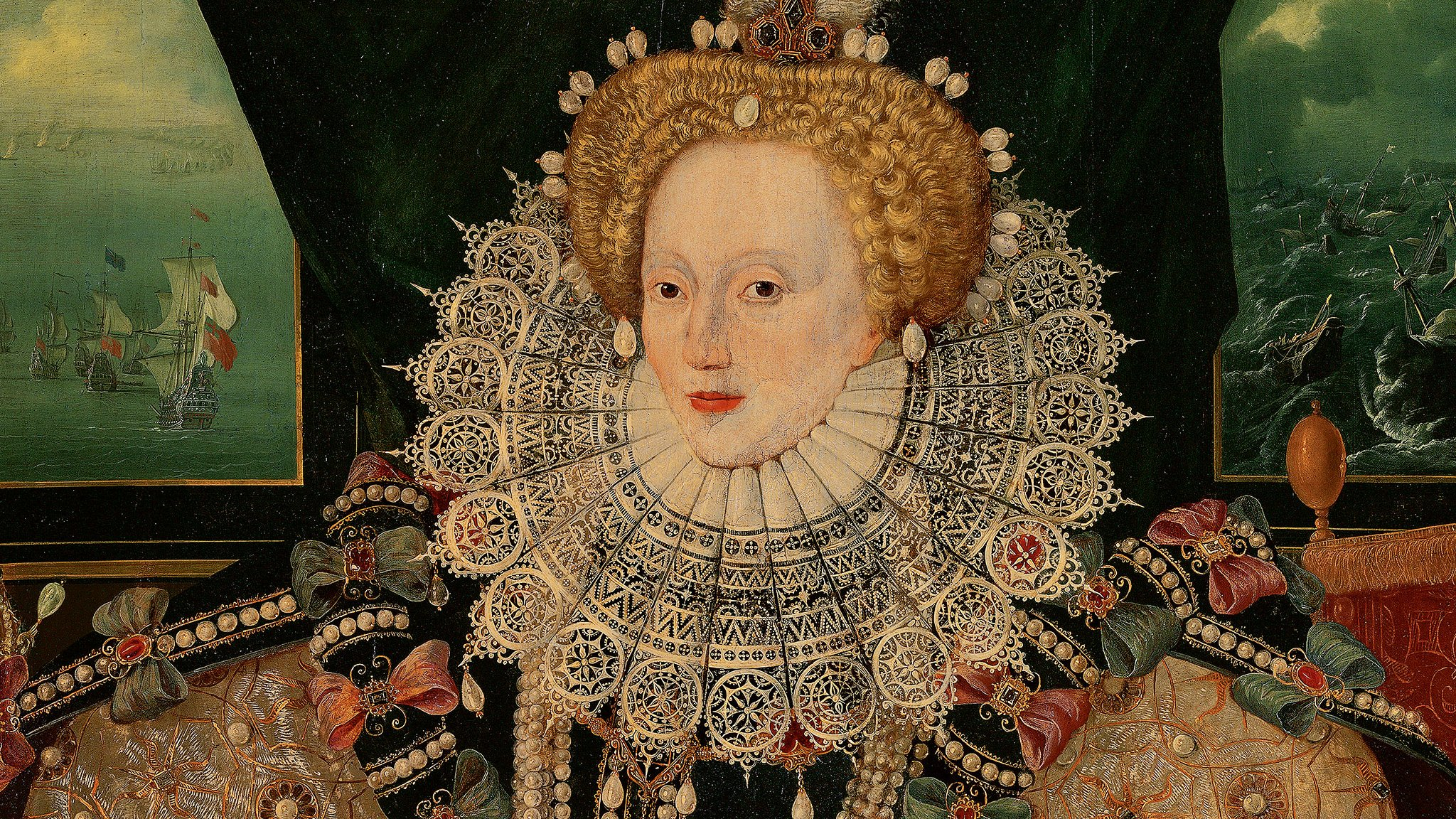 Elizabeth I Armada portrait saved with help of 8,000 donors
