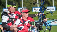 GB archers John Walker and Jo Frith