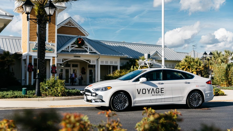 US retirement village to have 'largest' self-driving taxi scheme