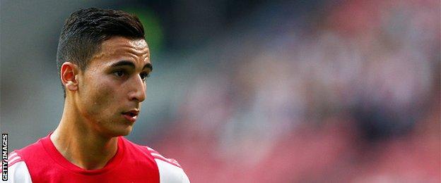 Ajax winger Anwar El Ghazi