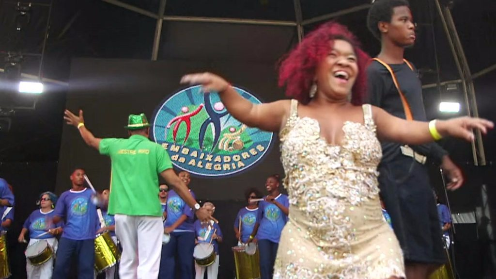 Brazil's samba for the disabled