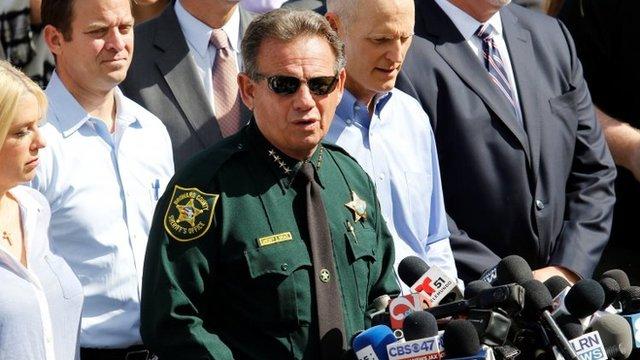 El sheriff del condado de Broward, Scott Israel.