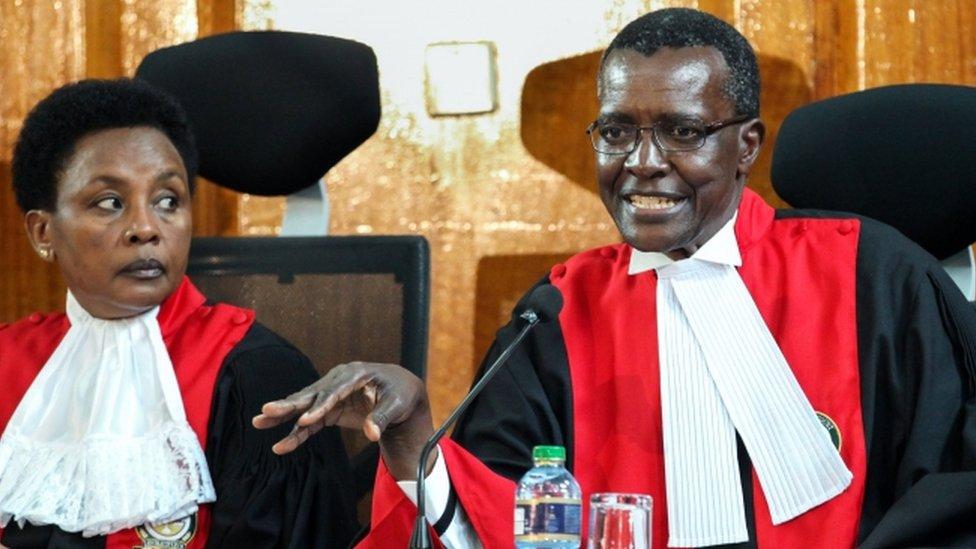 Kenya Supreme Court upholds Uhuru Kenyatta poll win