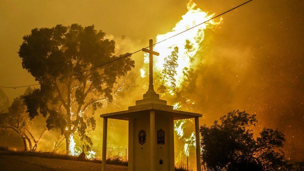 Incendio en Pampilhosa da Serra