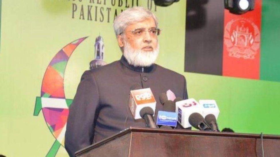 افغانستان کې د پاکستان سفیر: د دوحې د سولې خبرو مثبتو پایلو ته په تمه یو