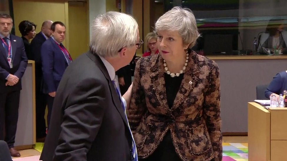 Brexit: EU says no to May on renegotiating deal