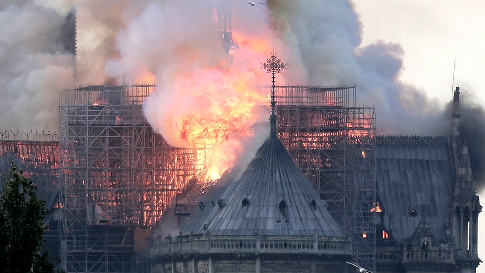 Truth or Not? Notre-Dame: Massive fire ravages cathedral