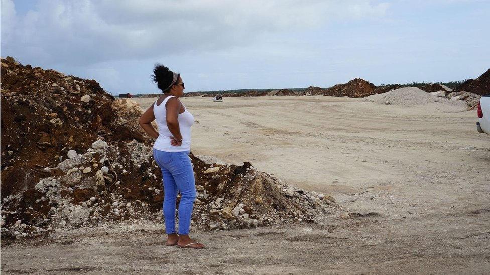 The island where 19th Century land ownership is at risk